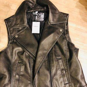 NWT - Free Press Leather Blazer